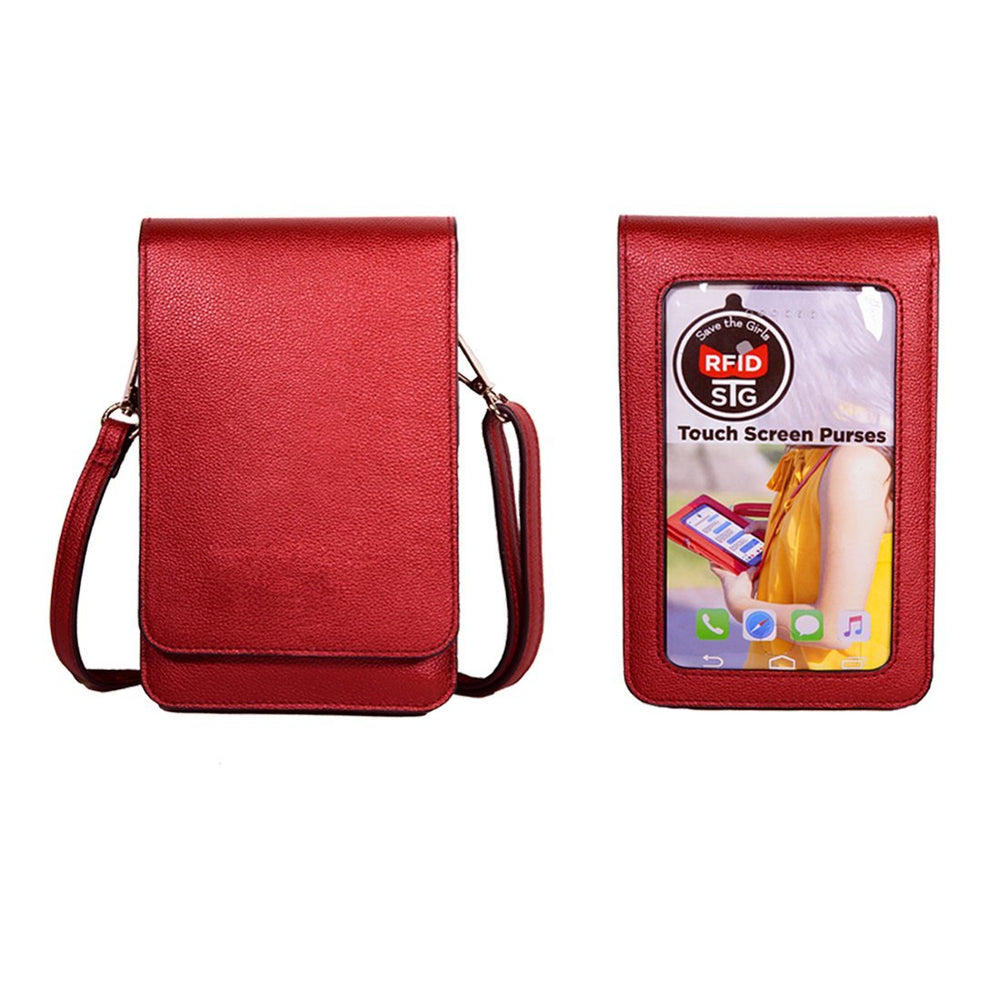 SaveTheGirls Metro Touch Screen Purse (RFID)