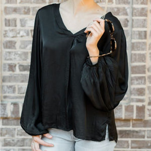 Cobblestone Living Elisa Top Black