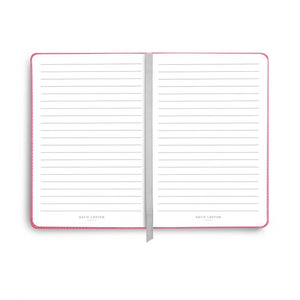 "Coral ""Love Love Love"" Notebook"