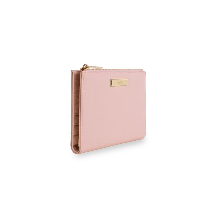 Light Pink Fold-Out Wallet