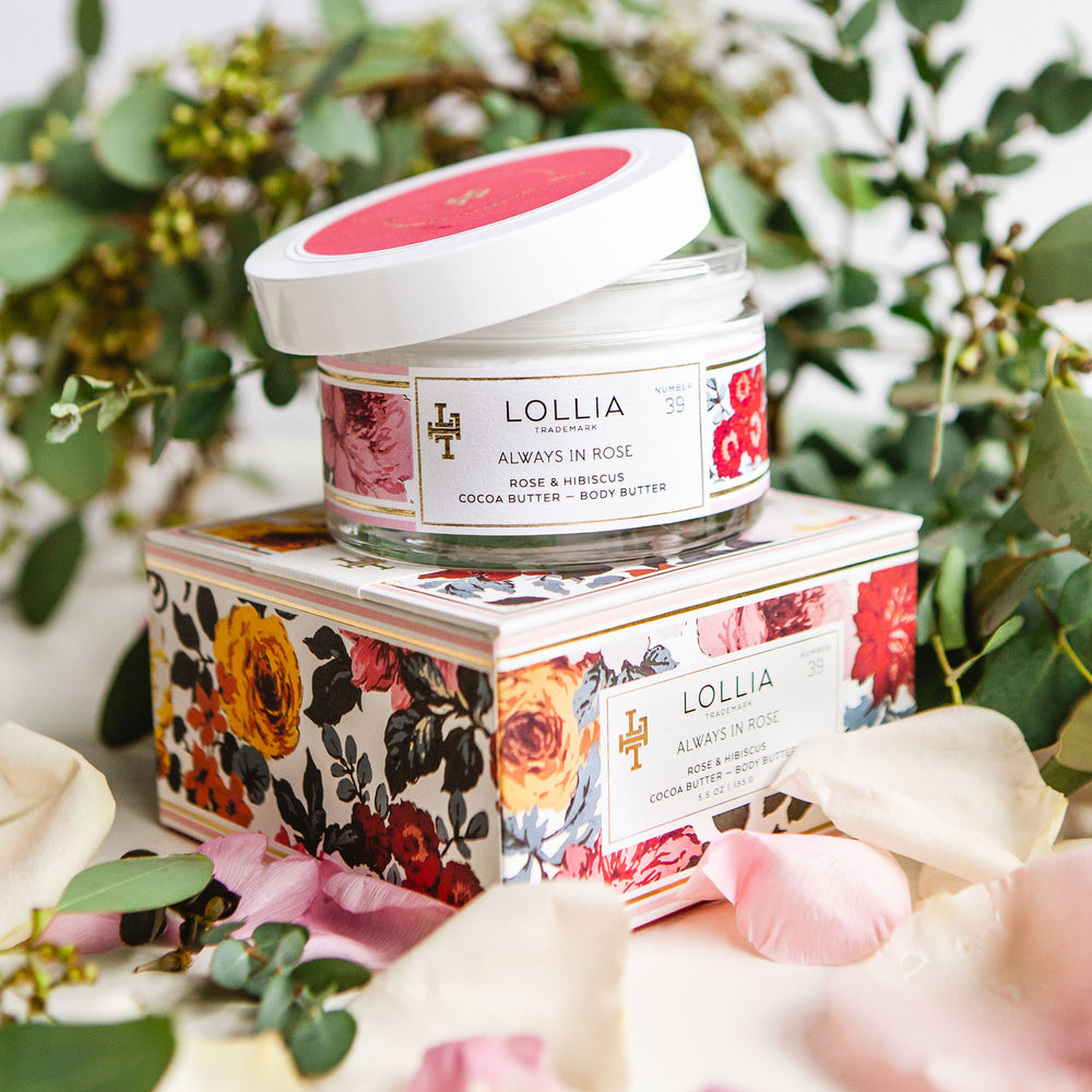 Lollia Always in Rose Body Butter