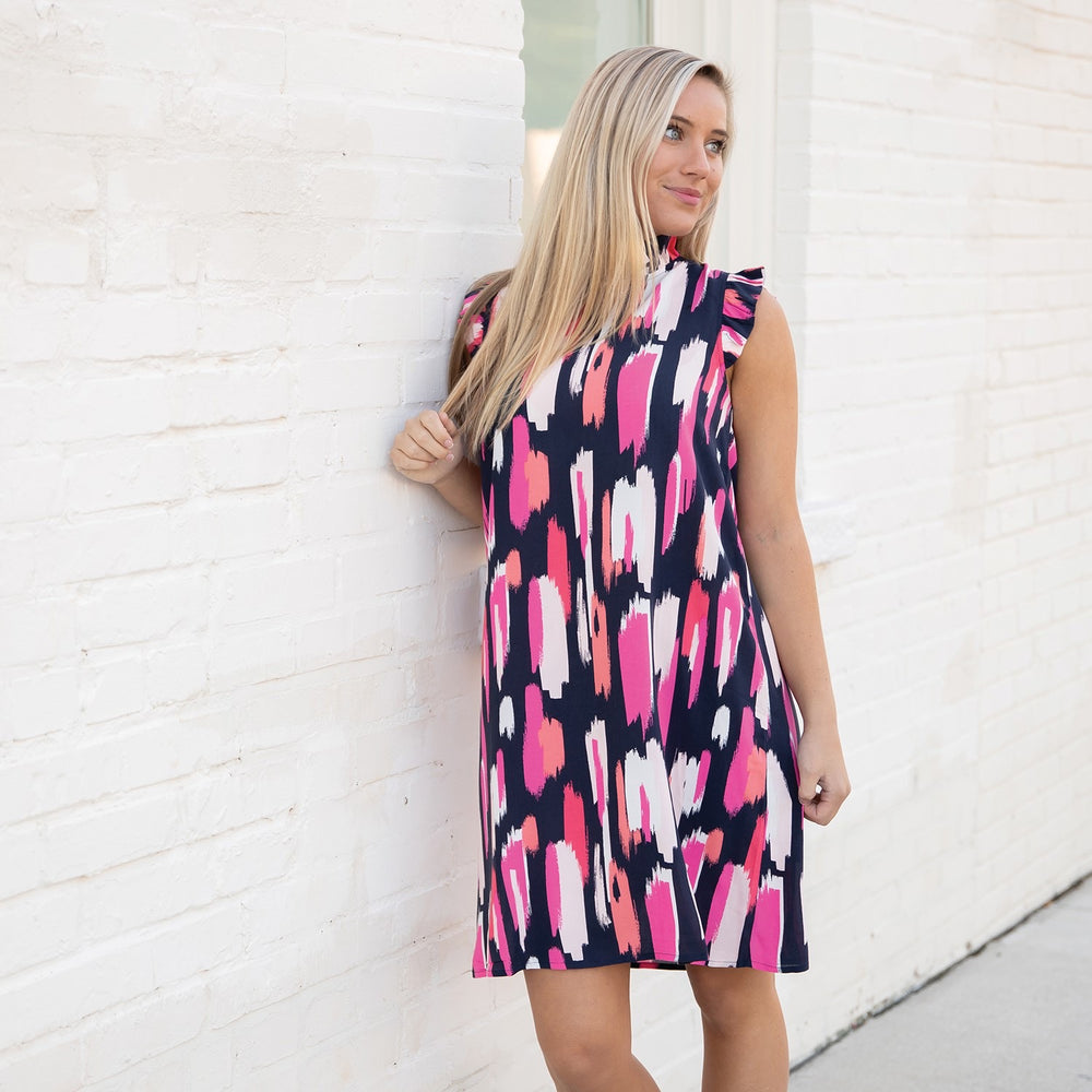 Mary Square Pretty in Paint Michelle Dress