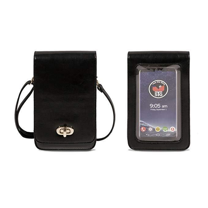 Touch Screen Purse (RFID) Black