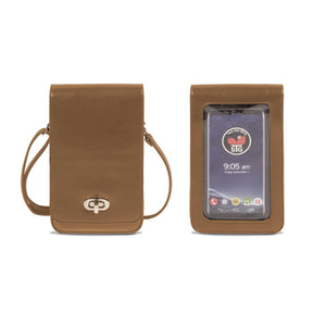 Touch Screen Purse (RFID) Taupe