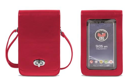 Touch Screen Purse (RFID) Red