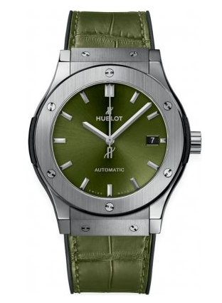 Hublot Classic Fusion Green Watch