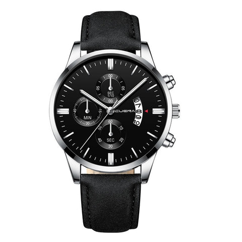 Masculine Business Watch Black