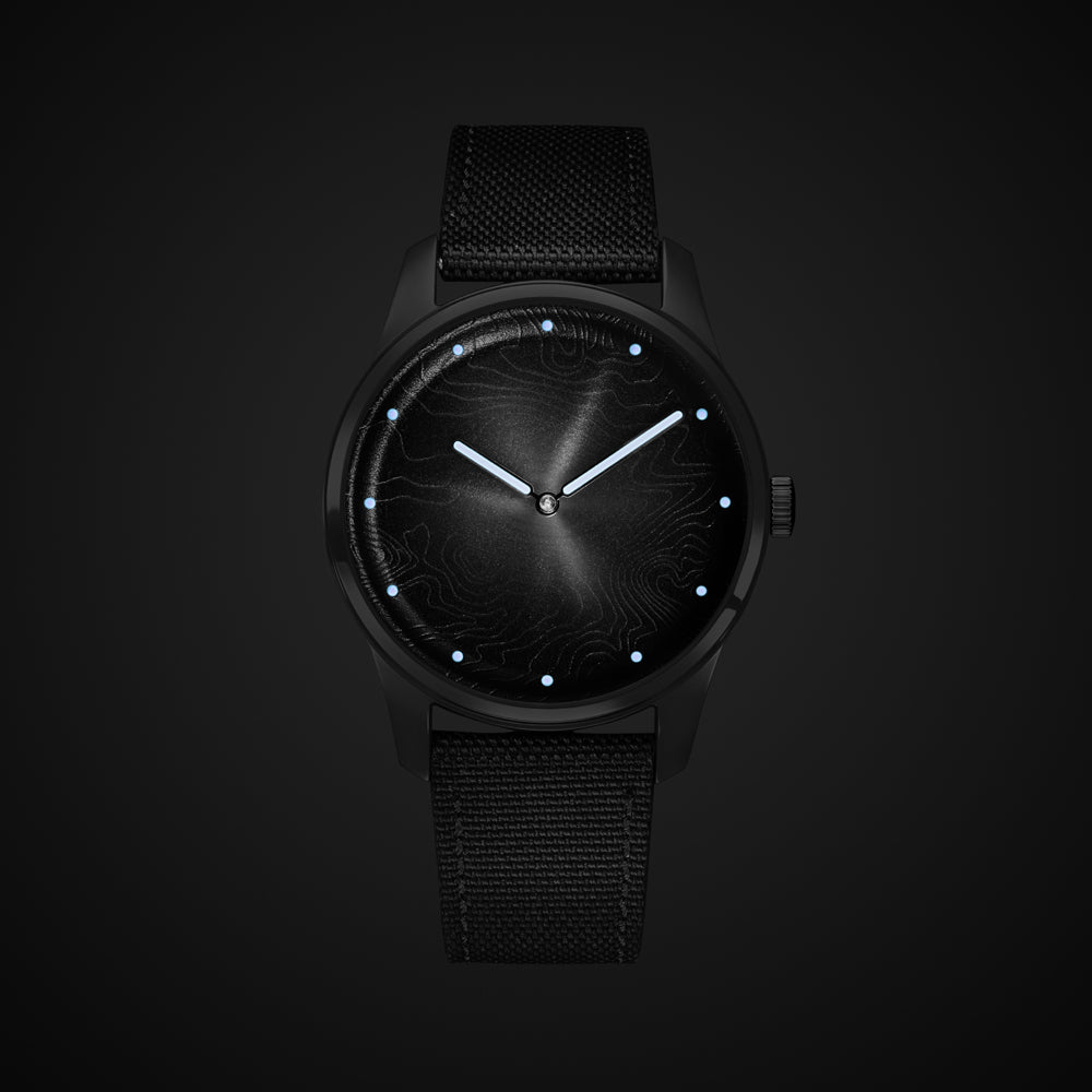 MOON BLACK - 36MM