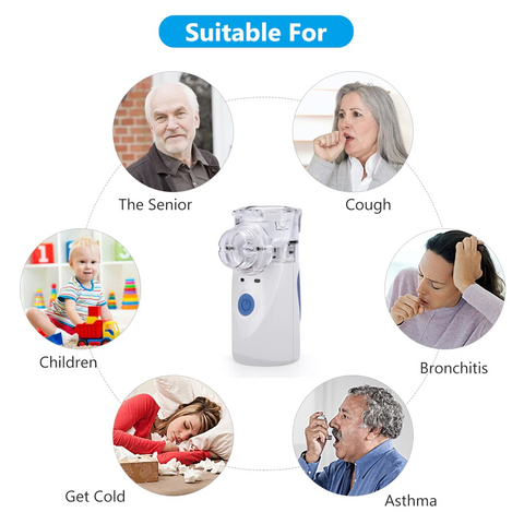 Battery Operated Portable Nebulizer Machine
