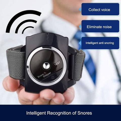 Infrared Intelligent Anti Snore Wristband