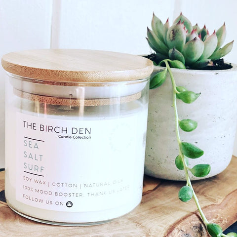 The Birch Den Soy Candles