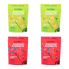 Immunity Boosting 4-Pack - X2 Unbelievaberry & X2 Tropical Zing - Everipe