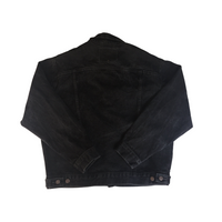 Levi's Black Denim Jacket - M