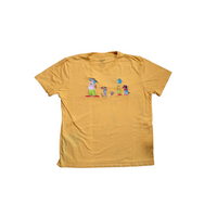 The Simpsons Characters Shirt - XL