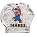 Super Mario Long Sleeve Shirt - L