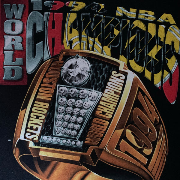 "Vintage 1994 Houston Rockets ""NBA World Champions"" Shirt - XL"