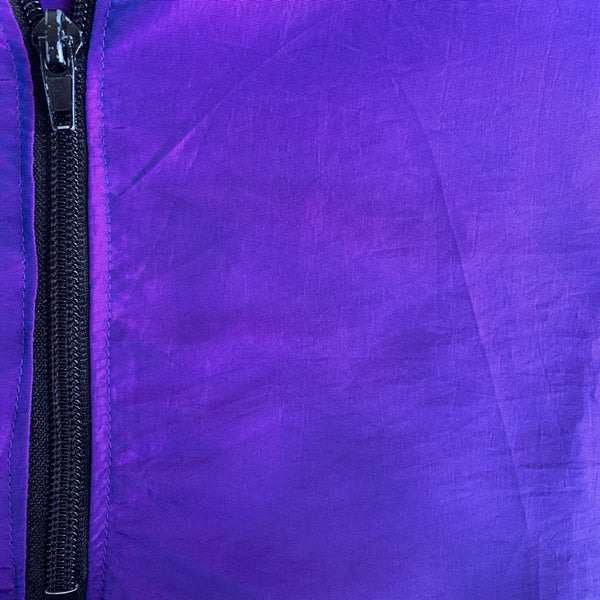 Purple Windbreaker- OSFA
