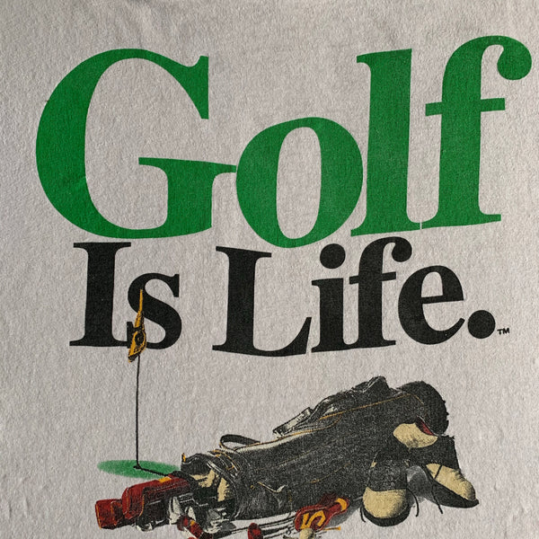 "Vintage 1994 Big Ball Sports ""Golf is Life"" Shirt - L"