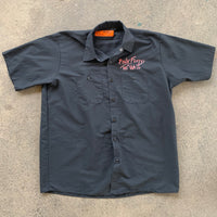 "Red Kap Pink Floyd ""The Wall"" Short Sleeve Button up Shirt - XL"