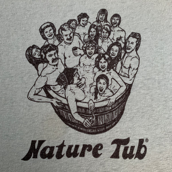 "Vintage 70s ""Nature Tub"" Shirt - M"