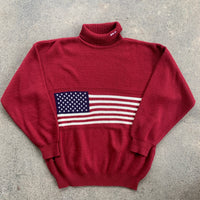 Polo by Ralph Lauren Bootleg Turtleneck Sweater - L