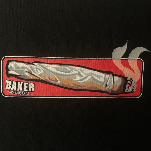 90s Baker Skateboards Jeff Lenoce Shirt - M