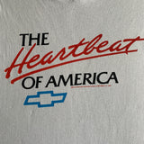 "Vintage 1990 Chevrolet ""The Heartbeat of America"" Shirt - L"