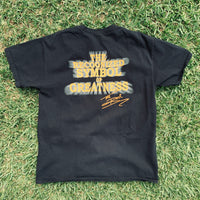"The Rock ""The Recognized Symbol of Greatness"" Boot Shirt - L"