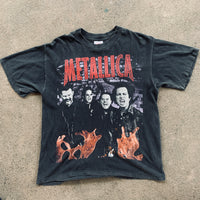 "Vintage 1996 Metallica ""Load on the Road Tour"" Shirt - L"