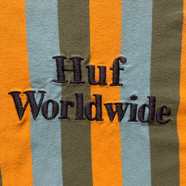 Huf Stripped Shirt - L
