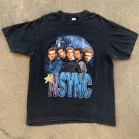 "NSYNC ""2001 Pop Odyssey Tour "" Shirt - L"