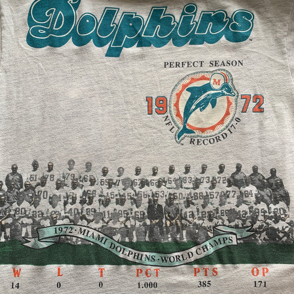 Vintage Miami Perfect Season 1972 Shirt - XL