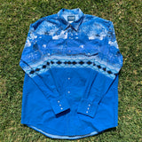 Wrangler Long Sleeve Button Up Shirt - XL
