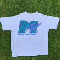 Vintage 1991 MTV Shirt - XL