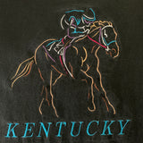 Vintage Kentucky Derby Embroidered Logo Shirt - L