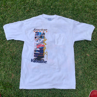 "Vintage 1997 Mark Martin ""American Power"" Pocket Tee - XL"