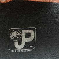 Vintage 1993 Jurassic Park Glow in the Dark Shirt - L