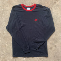 "Nike ""Embroidered Logo"" Long Sleeve Shirt - L"