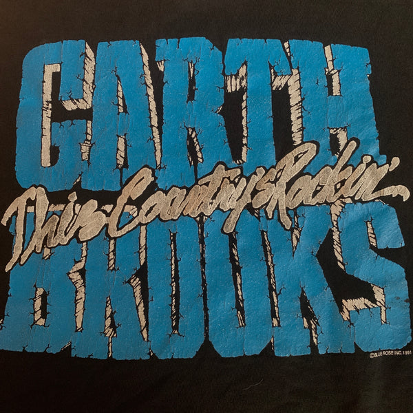 "Vintage 1991 Garth Brooks ""This Country's Rockin'"" Crewneck - XL"