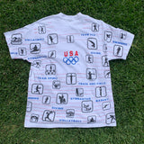 Vintage 1988 US Olympic Committee Shirt - XL