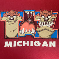 "Michigan ""Taz""'Shirt - L"
