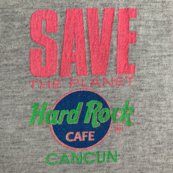 "Vintage Hard Rock Café ""Save the Planet"" Shirt - XL"