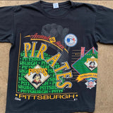 "Vintage Pittsburgh Pirates ""Around the Horn"" Shirt - L"
