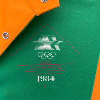 Vintage 1984 Olympic Games Levi's Official Staff Uniform Polo Shirt- S