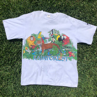 "Vintage 1991 Habitat ""Rainforest"" Shirt - XL"