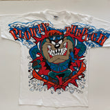 "Vintage 1994 Freeze NY Looney Tunes ""Ski Taz"" Shirt - L"