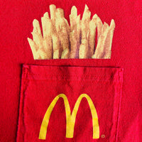 "McDonald's ""fries"" Shirt - L"
