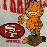 "Vintage 1993 San Francisco 49ers ""Garfield"" Shirt - L"