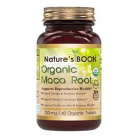 Nature's Boon Organic Maca 750 Mg 60 Organic Tablets