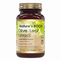Nature's Boon Olive Leaf Extract 150 Mg 60 Veggie Capsules